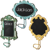 Colorful Chalkboard Wall Hook 3 Choices