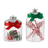 "4"" Candy Jar Ornament"