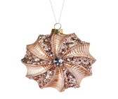 Sequin/Beaded Spiral Ornament