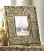 Distressed Carved Frame