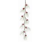 """60"""" Berry Pine Needle Garland"""