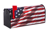 America in Motion Mailbox Cover