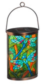 Tiffany Inspired Dragonfly Solar Lantern