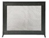 "Black Weave Design Panel Screen 31""H x 39""W"