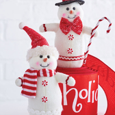 "7.25"" Snowman Ornament"