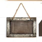 Tin Framed Blackboard Sign