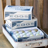 One Dozen ParkHill Araucana Eggs