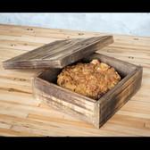 Reclaimed Wood Pie Box
