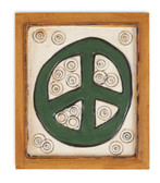 Peace Sign Magnet Tile