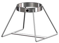 """Oxygen Cylinder Floor Stand for One Jumbo D/M22 (5.25"""" DIA) Oxygen Cylinders (1136-1)"""