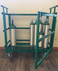 Heavy Duty Oxygen Cylinder Cart (1142-15HD)