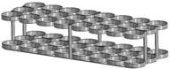 """Oxygen Cylinder Rack for 24 MM (8.00"""" DIA) Oxygen Cylinder (1143-24)"""