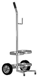 Dual Capacity Liquid Oxygen Delivery Cart (1155D)