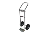 "Hand Truck/Dollie for One H or T (9.25"" DIA) Cylinder (1190)"