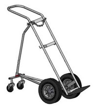 "Hand Truck/Dollie for One H or T (9.25"" DIA) Cylinder Featuring Stabilizing Assembly (1210)"