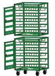 Layered Horizontal Rack for 98 M6 Cylinders (6521)