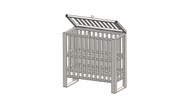 Heavy Duty Harmful Gas Storage Rack