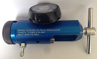 Adult 0-8 LPM 870 PV Mini Oxygen Regulator with Barbed Outlet