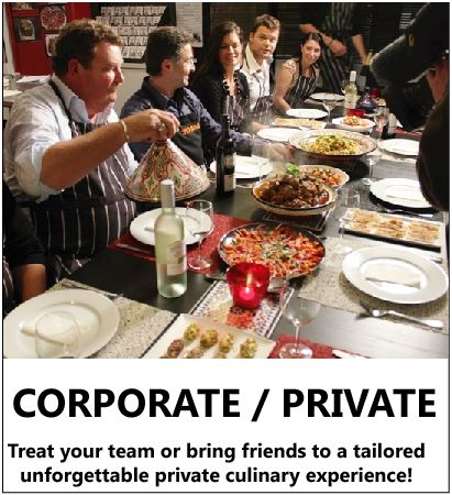 corporate cooking class event team building session or private cooking experience fun exciting unforgettable