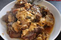 Greek Roast Lamb with yoghurt and Mastic