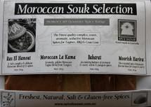 Moroccan Souk Spice Set (4 x 30g)