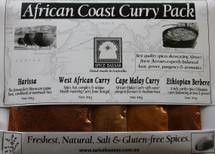 African Coast Curry Spice Set (4 x 30g)