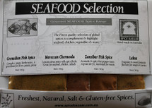 Seafood Spice Set(4 x 30g)
