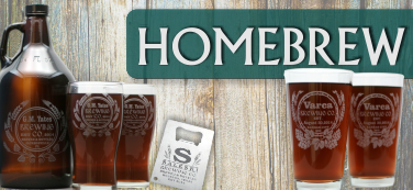 home brewing glassware