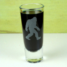 Bigfoot Engraved Shot Glass|Engraved Bigfoot Gift|Engraved Shot Glass|Personalized Gift|Etched Gift|Engraved Glassware|Custom Gift|Etched Glassware|Custom Glassware|Personalized Glassware|Personalized Promotional Products|Glass Blasted
