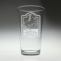 Prancing Pony Harry Potter inspired glass