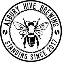 Custom listing for Laura - 4 pints with Ashbury Hive art