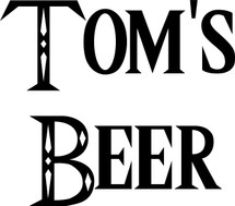 Custom listing for Troy - 32oz mini growler with Tom's beer art