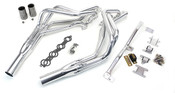 This swap kit is for 1994-2004 S-10 2 wheel drive pickup trucks (Does not work with Blazer). It was designed around our GM LH8 oil pan. Unlike most LS swap parts on the market this kit replaces the frame brackets in addition to the mounts so you'll have clean mounting of your engine and not a mix of parts that are weak and don't work together properly. The frame brackets bolts into existing holes in the frame and and locates the engine to give you the most options for front accessories drives. Click for more info