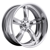 Raceline Billet wheels are CUSTOM BUILT to your order in our Southern California wheel factory. Each wheel center is precisely CNC machined out of a solid 6061 T6 forged billet aluminum disc.After the finishing process, the center is then assembled into a spun aluminum rim to the exact offset you require for your build.