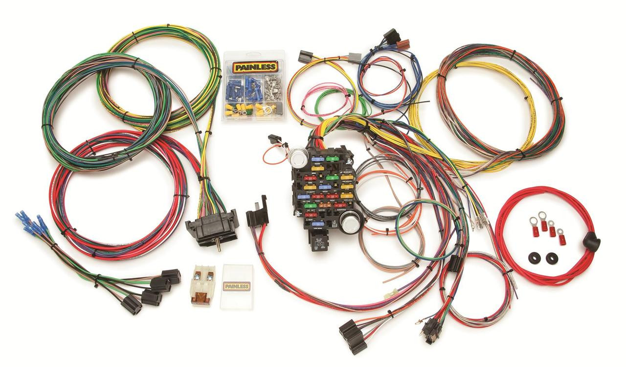 73 Gmc Wiring Harness Reinvent Your Diagram Trailer Adapter 87 C10 Kit Painless Rh Stores Lsxeverything Com Truck