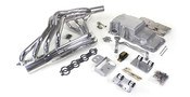 Hello LSx Guys! Get your Vette on the road daily - get your project on the road with this swap kit!  This swap kit is for the 1963-1967 Corvette. It was designed around our 4th gen f-body and CTS-V oil pans. It bolts into existing holes in the frame and was designed to give you the most options for front accessory drives. Unlike others, our kit positions the engine so there is no steering interference and maintains the proper drive-line angle for smooth highway cruising. It provides clearance for the factory AC box, power brake booster, and aftermarket suspension components.  We offer a complete line of Muscle Rods headers that give unparalleled performance and ground clearance with sizes that are matched to your engine combo. These combined parts offer an easy, strong, and clean installation of your LS engine.  Can work with the following transmissions:  LS and T-56 or TR-6060 LS and 4L60E to 4L70E Please advise in the notes on which combo you will be installing in your project.
