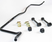 """Eliminate sway issues and turning malfunctions with this rear performance sway bar to achieve proper handling and steering on your 1960-1972 Chevy / GMC C-Series, K-Series Pickup 2wd with rear leaf springs.  These performance anti-roll bars are manufactured with """"cold forming"""" heat treated steel to prevent from bending under suspension stress or being damaged from excessive heat. Installing this 7/8"""" diameter anti-roll bar onto the rear of your Chevy/GMC Pickup will bring you closer to racing quality performance and help to improve all forms of handling including tight turns around corners and precision steering under extreme conditions as well as the reduction of body roll and unwanted over steering.  Chevy/GMC Pickup  sway bars will take the handling and performance of your truck/suv to the next level. These aftermarket stabilizer bars are built to fit your 60-72 Pickup and can be installed with ease thanks to compatible hardware that is included.  Chevy / GMC Pickup users who take advantage of this rear replacement stabilizer bar kit will be able to retain precision handling around corners while being able to haul heavy loads with maximum safety and control. After installing the front sway bar kit you will be able to drive your truck/suv with ease as the sway bar will help to make sure you stay level with the road as well as provide your tires with excellent cornering grip"""