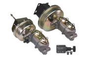 "60-66 C-10 9"" BRAKE BOOSTER WITH MASTER CYLINDER"