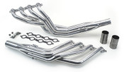 """We offer several sizes of headers so you can match them to your engine combination. Our 1 ¾"""" long-tubes will support up to 600hp. For more than 600hp we offer 1 7/8"""" long-tubes and for big cubic inch monster engines our 2"""" is a perfect match. Our stepped headers offer great high rpm performance while retaining good low and mid-range power. They all include gaskets, bolts, reducers, and O2 sensor bungs. Click for more info"""