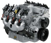 The LS3 gets a big cam and carbureted intake manifold for an additional 85 horsepower!  You know that the LS3 is the hot new small-block V-8 in the GM arsenal, but you still want more. We proudly offer you the LS376/515, an upgraded LS3 that is equipped with an aggressive camshaft and GM Performance Part's exclusive carbureted intake manifold. Two simple upgrades that add up to 515 horsepower—an 85 horsepower bump over the stock LS3.