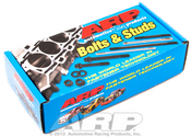 These ARP High Performance series head bolt kits are tough! They are rated at 170,000 psi--15 percent stronger than Grade 8 fasteners. They come available with hex heads or reduced wrenching 12-point heads that eliminate the need for valvetrain removal when re-torquing cylinder heads.  Fastener Style: Bolt Undercut Stud: No Head Style: Hex Fastener Material: Chromoly Fastener Finish: Black oxide Washers Included: Yes Cut to Fit:No