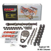 COMP Cams Xtreme Energy cam and lifter kits are built to take advantage of the latest cam technology and provide maximum performance. This cam kit is what you need if you are going to turbocharge your LSx drivetrain!  Hydraulic roller tappet cam with a basic operating range of 1,600-5,400 RPM. Intake Duration at 050 inch Lift:218, Exhaust Duration at 050 inch Lift:224.  Duration at 050 inch Lift:218 int./224 exh. Advertised Intake Duration:270 Advertised Exhaust Duration:276 Advertised Duration:270 int./276 exh. Intake Valve Lift with Factory Rocker Arm Ratio:0.510 in. Exhaust Valve Lift with Factory Rocker Arm Ratio:0.510 in. Valve Lift with Factory Rocker Arm Ratio:0.510 int./0.510 exh. Lobe Separation (degrees):110 Grind Number:XR270HR