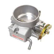 Satin finish. The 85mm throttle body for 1998-2002 LS1/LS6 Camaro and Firebird is typically suitable for use on Professional Products 52060/52061 LS1 Typhoon intake manifolds as well as other LS1 aftermarket intakes. This throttle body features die cast aluminum construction and are O.E. quality units. Utilizes an aluminum transition plate that bolts between the stock manifold and the throttle body. This transition plate smooth the flow of air when using the throttle body on a manifold that has an inlet opening smaller than the throttle body. These units are a direct bolt-in replacement for the stock throttle body. Our throttle body also fits 2004 Pontiac GTO and full size 4.8, 5.3 & 6.0 engines with cable style throttle linkage.