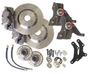 "Upgrade the look and feel of your 67-69 Camaro or Firebird with an altitude and attitude adjustment!  13"" solid rotor kit, 2"" drop spindles and all of the hardware to install it. This kit requires the use of a minimum of a 17"" wheel.  Order yours and get your hot pony car stopping on a dime today!"
