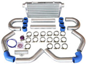 "Product Info and Spec: Intercooler Kit: Bar & Plate Construction Core Size: 24""x12""x4"" Overall Size: 31""x12""x4"" 4"" Thick Core, 3"" Inlet & Outlet 3"" Aluminum Piping Kit 50mm BOV"