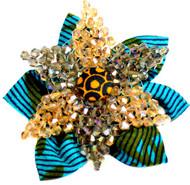 Gold Starfish Brooch
