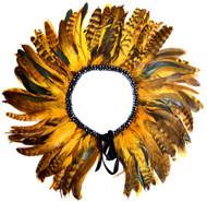 Gatsby Feather Collar (Mustard)