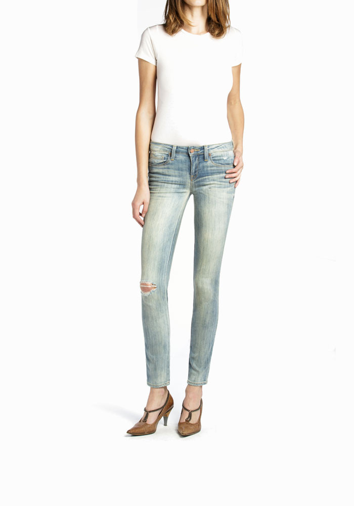 MID RISE  ANKLE SKINNY - Shya in Catalina