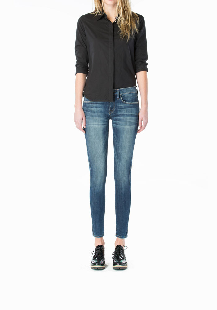 MID RISE SKINNY CROP- Daphne in Orion