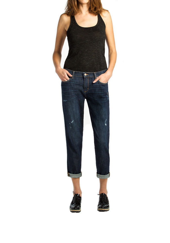 MID RISE SLOUCHY SKINNY - Gia in Brooklyn